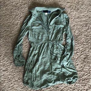 Greenish dress